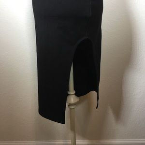 MINKPINK Dresses - Backless Minkpink dress with thigh high slit